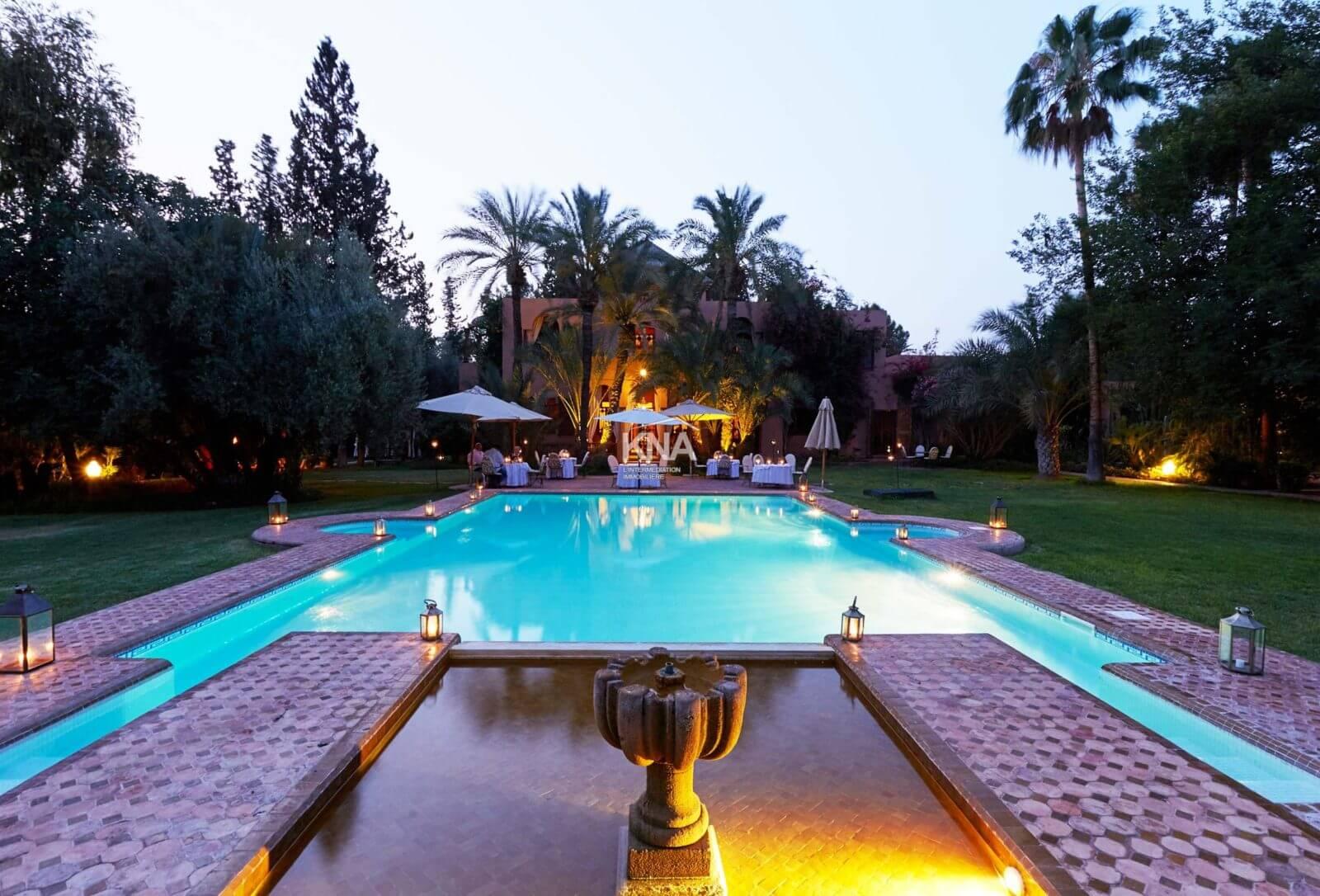 vente villa marrakech Maroc