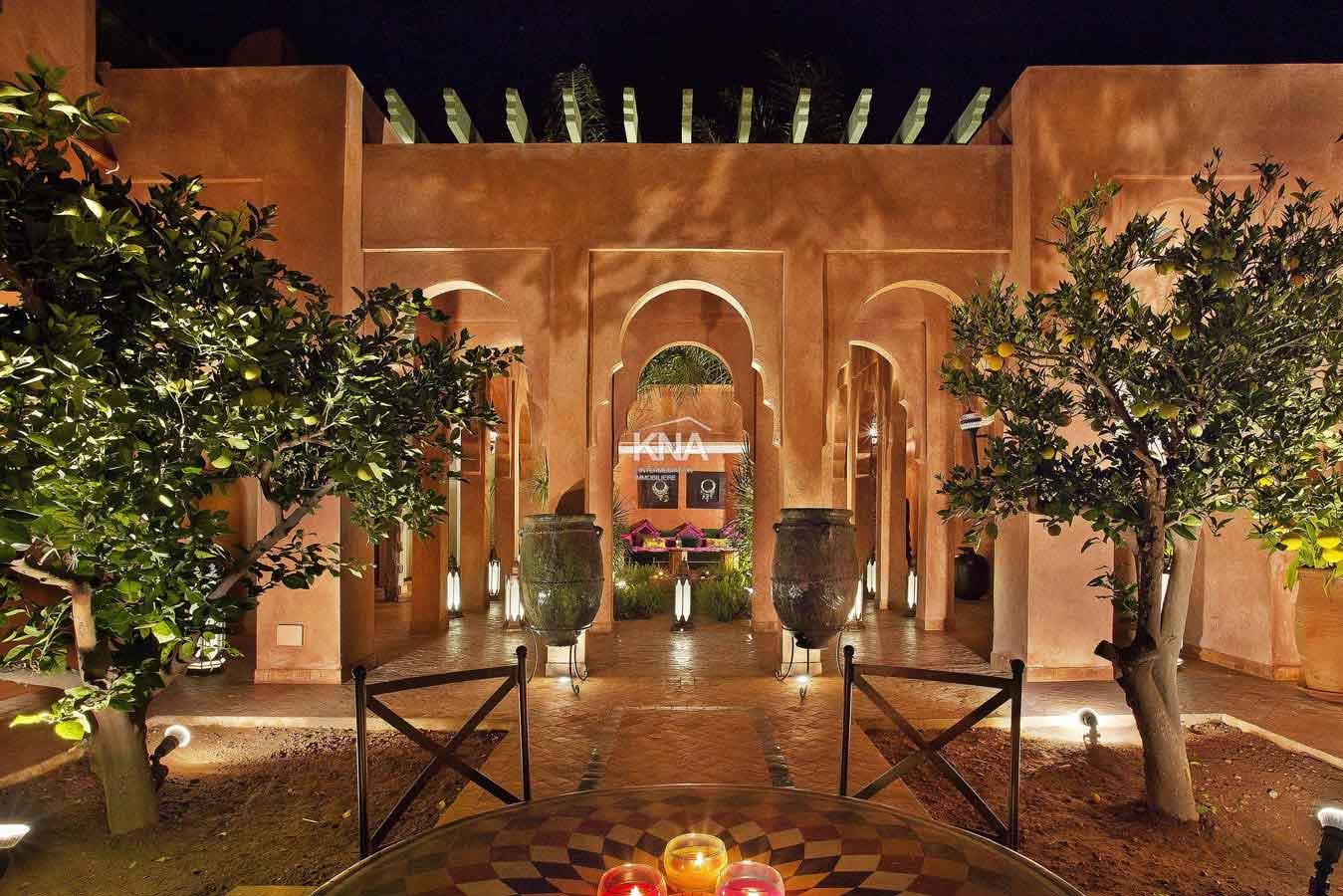 villa a vendre marrakech luxe